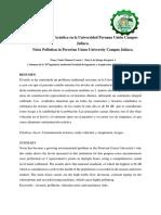 Contaminación Acústica en La Universidad Peruana Unión