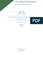 Educacion Ambiental Dentro de La Construccion