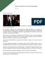 Nepotismo Impera en Gobierno de Juan Hernández