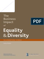 The Business Impact of Equality and Diversity