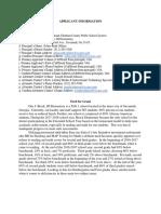 Full Otis J. Brock T3 Grant Application Information