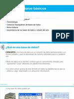 Principios básicos de bases de datos