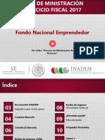 Guía de Ministracion INADEM 2017