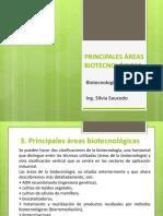 2. Principales Áreas Biotecnológicas