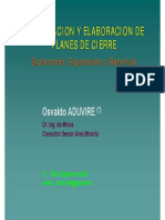 Formulacion Plan Cierre Minas OA Ok 2013