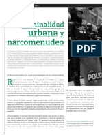 Criminalidad Urbana y Narcomenudeo