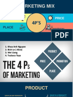 Presentation - Group - Homework - 4P's