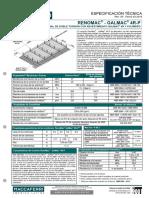 Tds Br Renomac 10x12-2.6x8-2.2mm g4r-p Revmarsp