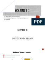 Solid Mechanics ME 212 - Week 13