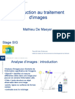 2009 Introduction Interpretation Et Traitement Images Satellitaires