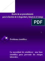 DISEÑO DE PROCEDIMIENTO PARA LA GESTION DE LA SEGURIDAD.ppt