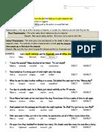 09 30 Barker Grade 6 Characterization Practice Worksheets
