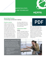 Nortel Technology Architecture Roadmap
