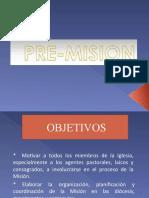 Pre Mision