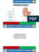 appendectomy