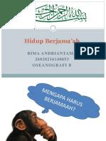 Agamaosec Hidup Berjama'Ah Bima Andriantama 26020216140053