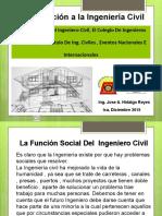 La Funcion Social Del Ing. Civil