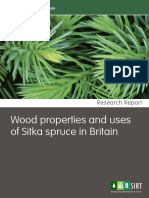 Wood Properties and Use of Sitka Spruce in Britain