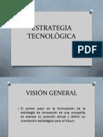 Estrategia Tecnológica