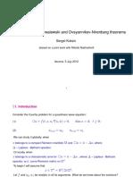 Around The Cauchy-Kowalewski and Ovsyannikov-Nirenberg Theorems_-_Sergei Kuksin.pdf
