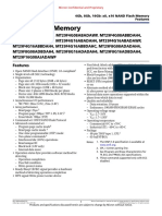 Micron MT29F4G16ABBDAH4 IT D Datasheet