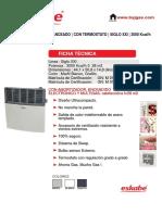 Calefactor Eskabe 3000