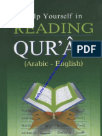 Help Yourself in Reading Quran Arabic  English