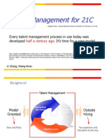 (HBR)Talent Management for 21C_cck21c