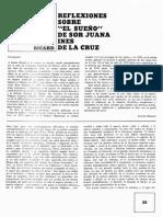 Ricard - Reflexiones Sobre El Sueño de Sor Juana