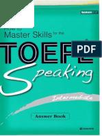 How to Master Skills TOEFL IBT - Speaking Intermediate Answers