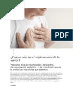 Cidaddos de Artritis