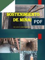 4. Sostenimiento de Minas