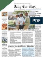 The Daily Tar Heel for September 1, 2010