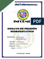 Informe Final Presion