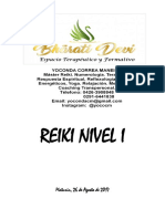 Manual de Reiki Nivel i