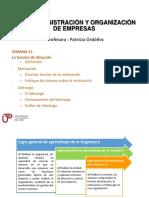 Unidad 4 - Semana 11 - ADMINISTRACIÓN Y ORGANIZACIÓN.pdf