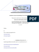 Installation OpenMeetings 3.2.0 on Ubuntu 16.04 LTS