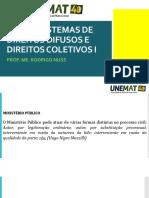 AULA 05 - MINISTÉRIO PÚBLICO - Jurisprudência.pdf