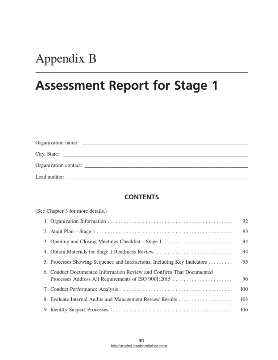 Iso 9001 2015 Audit Checklist   Internal Audit   Audit