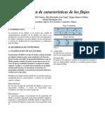 Clasificación de Características de Los Flujos