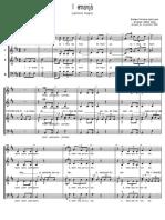 Iemanjá- Coro a Quatro Vozes