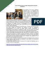 Presentan Detalles Del Proyecto de Ley Sobre Prevención de Riesgos Laborales