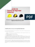 Clasificación de Cascos de Seguridad Industrial