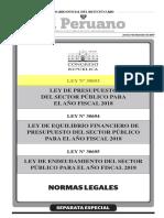 30693-Ley de Presupuesto Del Sector Publico Para El Año 2018