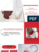KOMPLIKASI TRANSFUSI (ANESTESI)