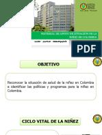 Situacion de La Niñez en Colombia