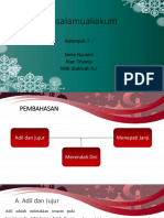 Presentasi Etika Islam