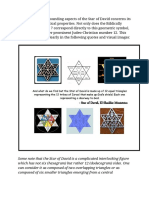 The Star of David's 12 Sides & 12 Segments of the 12 Tribes of Israel
