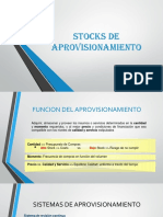 Stocks de Aprovisionamiento