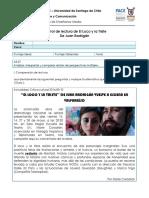 4° Control de lectura de El loco y la triste 2016.docx